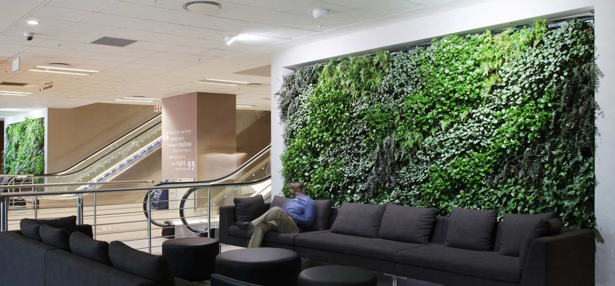 Home / Green Wall ...